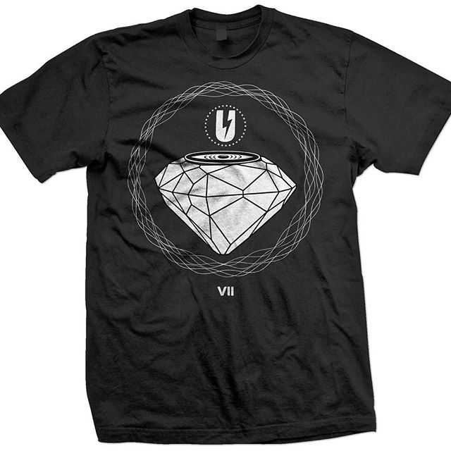 The Diamond Speaker.  Happy Anniversary @uhalldc // I designed their logo and each year their anniversary shirt.  So happy to be apart of a legendary spot that helps shape D.C.'s music scene.  For this design I wanted to create an idea of the most perfect speaker in the world.  The one of a kind Diamond Speaker. 🔈🔈