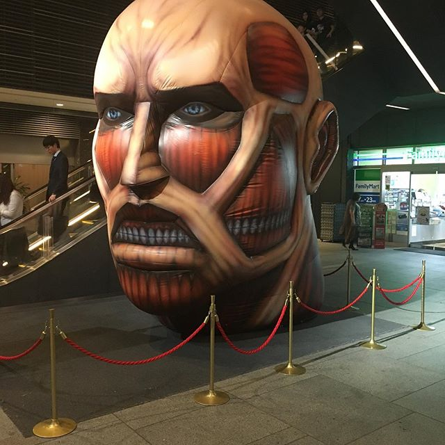 Current mode- getting so excited for @powwowdc - a lot of amazing artist coming.  Who's gonna swing thru?  Got to see this titan at the Skytree in Tokyo-